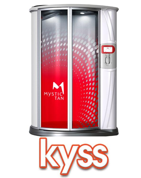 mystic kyss spray tanning booth sunless tan denver colorado